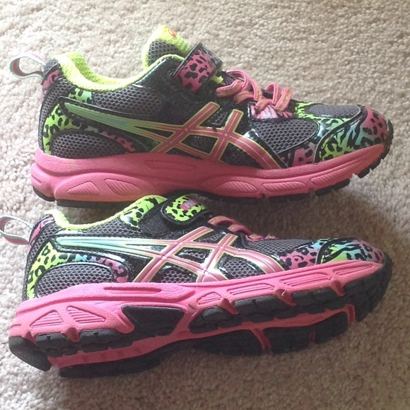 Asics Zapatos Para El Tamaño De Las Niñas 13 OrDAlHcLdn
